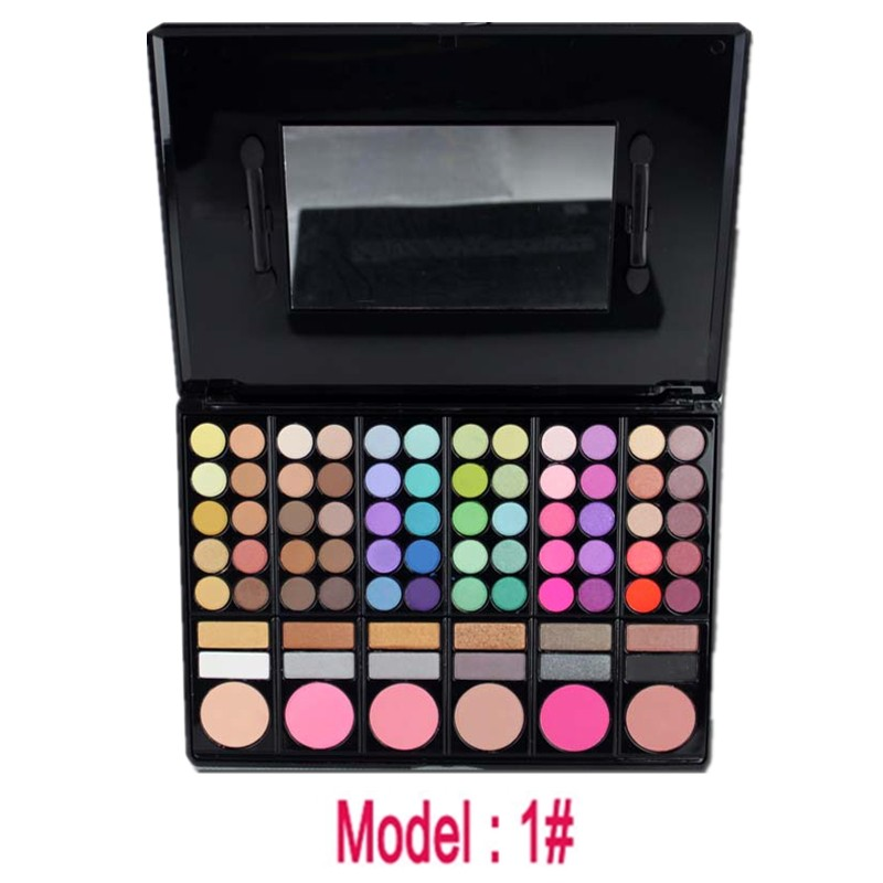 Fashion High Quality Wholesale Makeup Cosmetics Eyeshadow 78 Color Makeup Kit Set Box Cosmetics