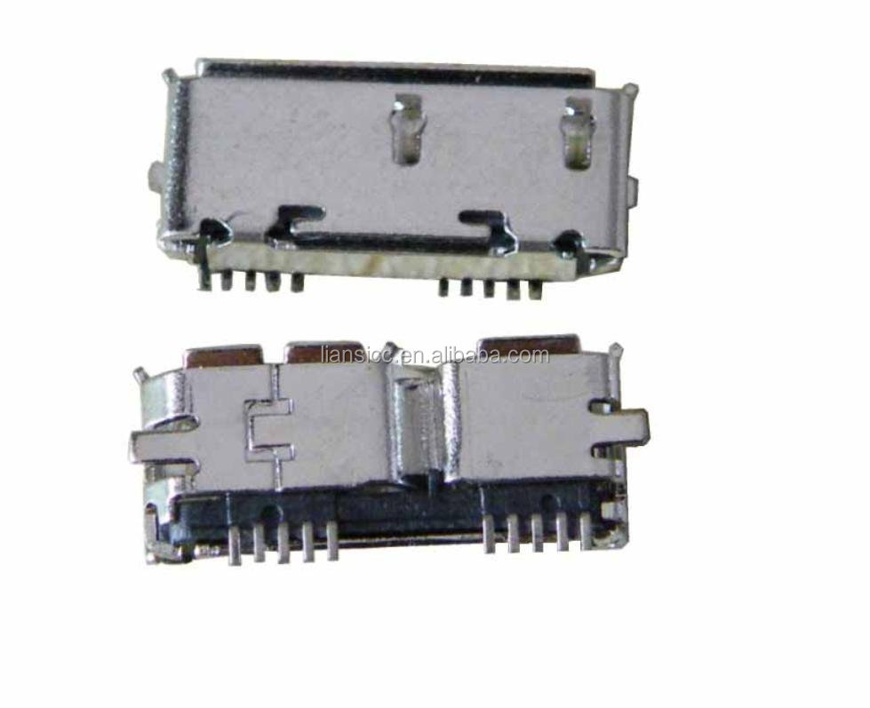 micro usb 3.0b type female connector/ micro usb connector