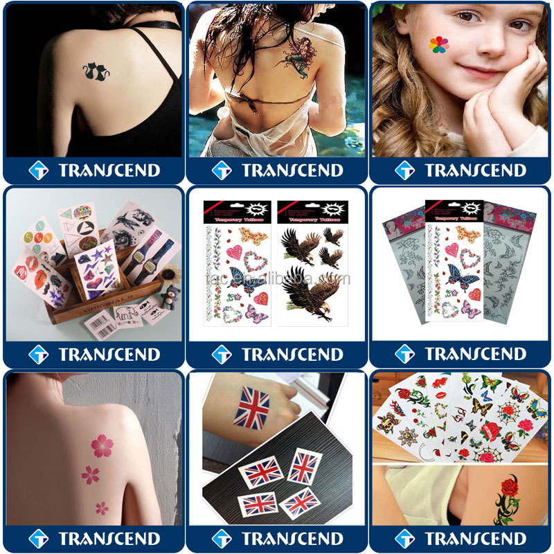 New temporary kids tattoo sticker for body face/Sexy Fashion Butterfly Body Art Waterproof Elegant Temporary Tattoo Sticker DIY