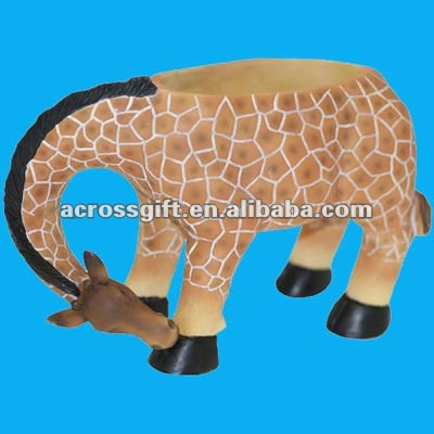 Hotsale resin animal planter
