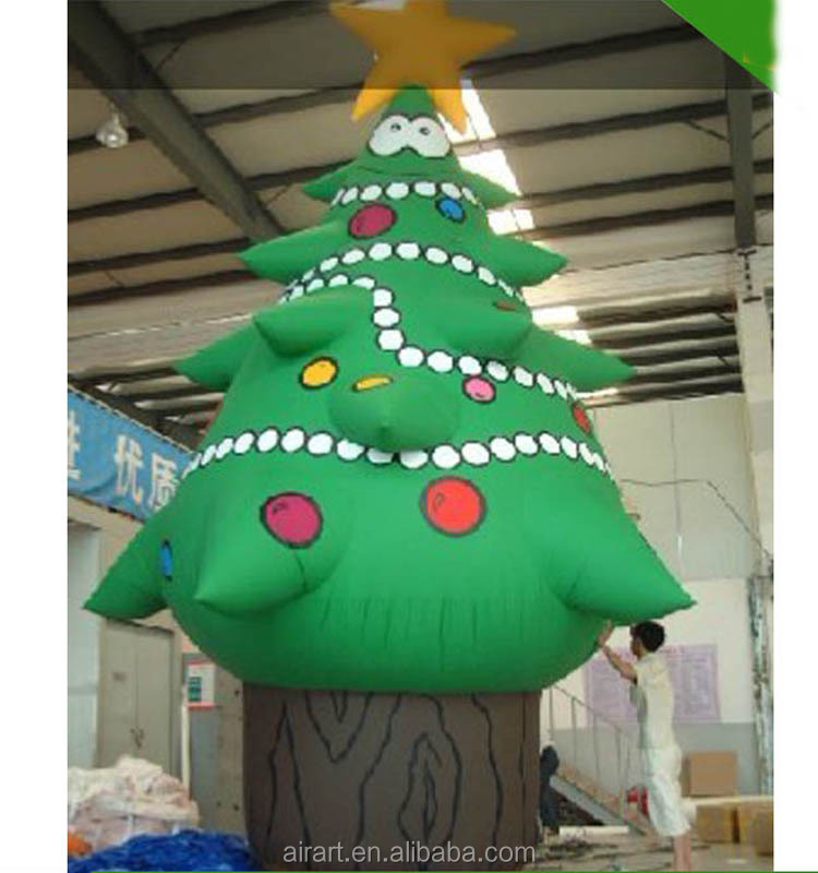 indoor size can be customized inflatable Christmas tree Christmas decoration
