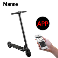 Manke MK061 6.5inch Electric Scooter folding mini size for both adult and child 36v 300w brushless motor front lithium battery