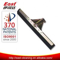 industrial floor rubber broom squeegee
