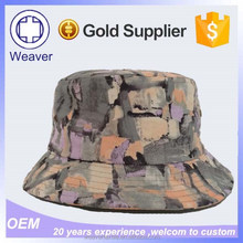 Design You Own Printed Short Brim Bucket Hats from China