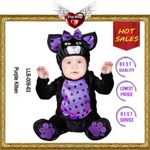 Halloween Cosplay Purple Baby Mascot Costumes