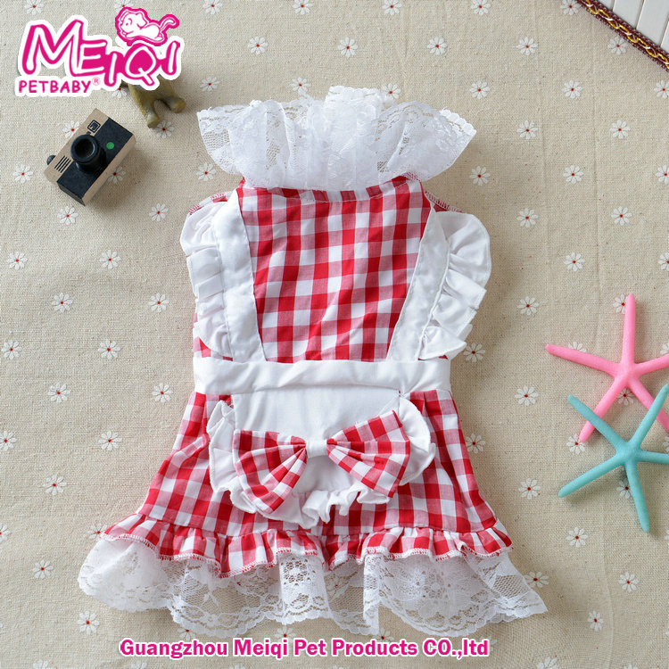 Wholesale Pet Clothing Pet dress new dog dress good looking summer dress for dog