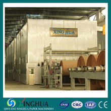 Corrugated fluting paper making machinery to recycle cardboard waste paper