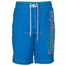 Fashion 100% microfiber boy beach board swimming shorts men