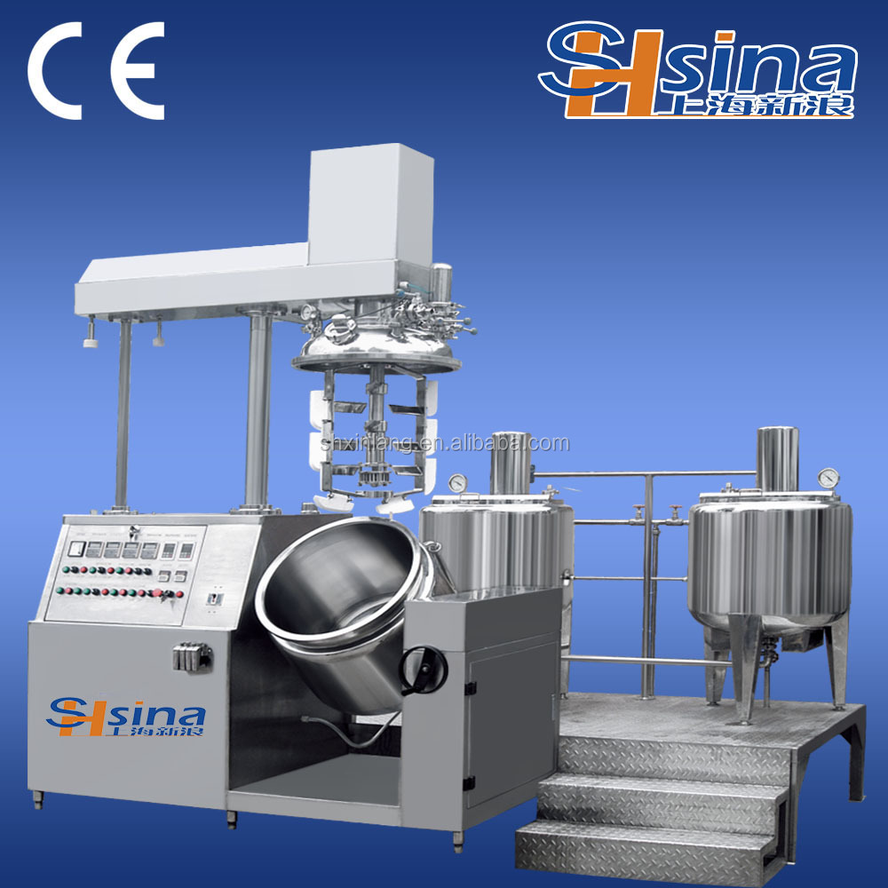 Cosmetic vacuum emulsification blender Emulsifying Mixer