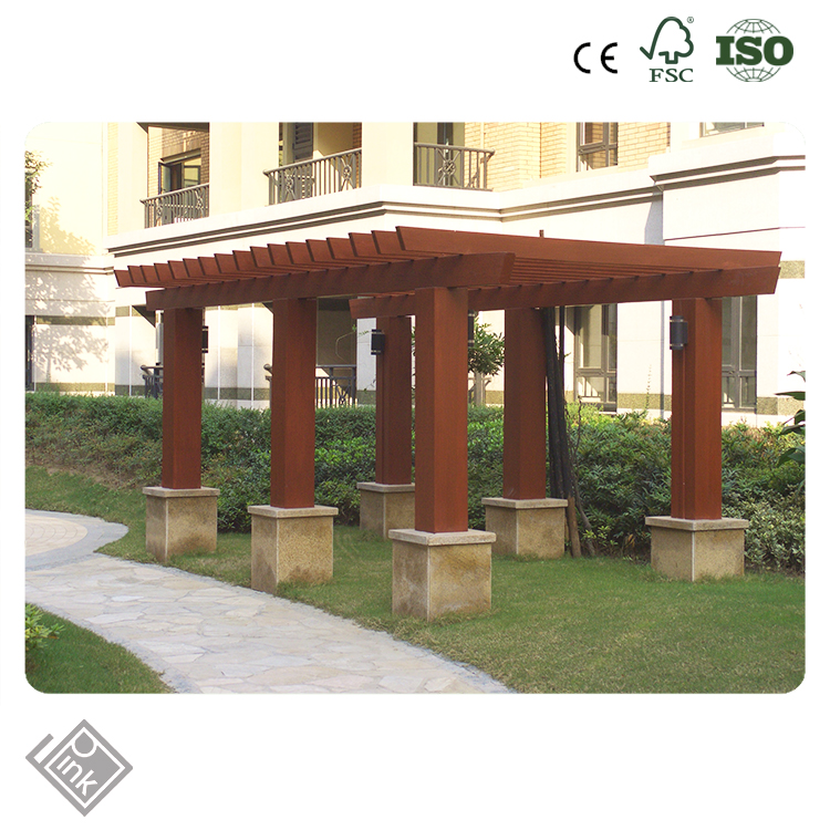 new hot sale Pergola /RD polyurethane faux wood decorative pergola