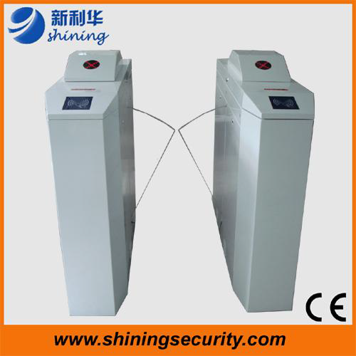 Customize bi - directional Security Flap Barrier Gate Pedestrian Turnstiles