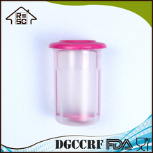 Small 2 Cup Round Pickle Keeper Plastic Pickle Jar