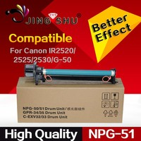 Compatible for Canon IR2520 IR2525 IR2530 Drum unit for NPG51 GPR35 CEXV-33