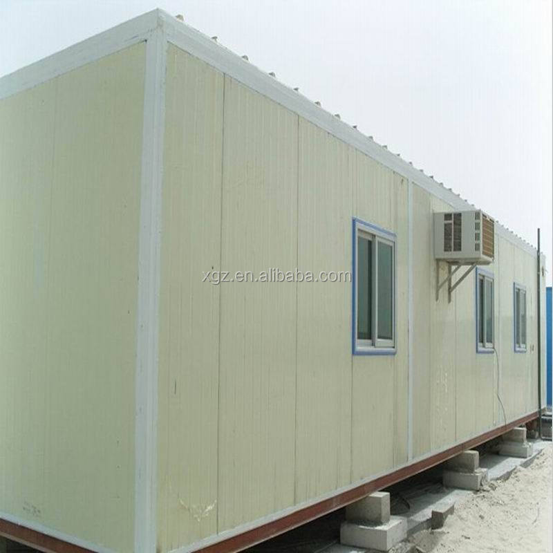 Steel Frame Movable Container House Mobile Home From China