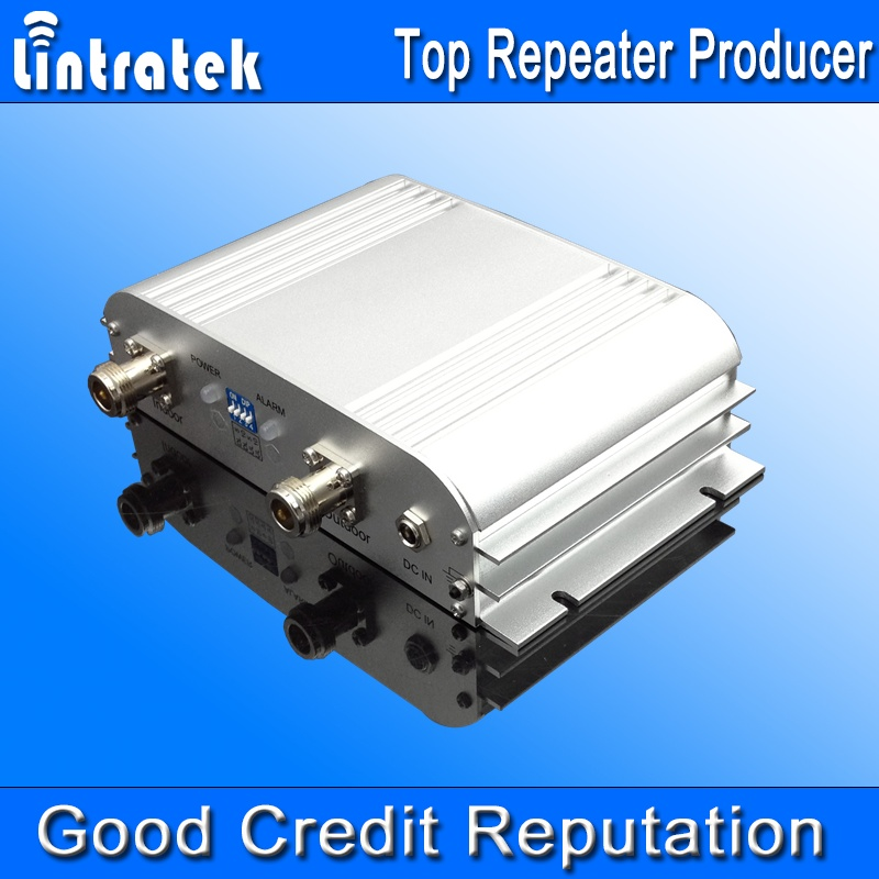 lintratek brand 3G WCDMA 2100 10 dbm selective band repeater supplier in China signal booster mobile network solution