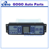 GOGO High quality auto air conditioner control panel for PC200-7