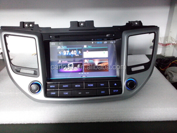 2 Din car dvd gps for Android 4.4.4 quad core Hyundai Tucson/ix35 2015