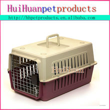 Best quality aluminium pet kennels plastic dog cage
