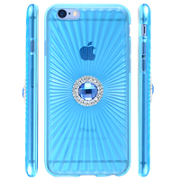 slim TPU diamond crystal case for iphone 6