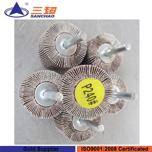 Diamond Spindle Mounted Grinding Flap Wheel