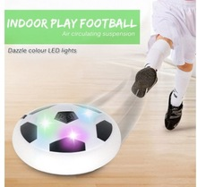 New Electric Suspension Football With Colorful Lights Air Hover Soft Recreational Sports Toys Educational Football