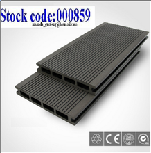 Outdoor Hollow Wood Plastic Composite Decking Board Grooved Plastic Composite Floor Covering
