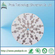 Low price aluminum pcb for LED with HASL surface treatment