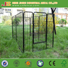 90cmx94x8 pcs panel Large Heavy Duty Cage Pet Dog Cat Barrier Fence Exercise Metal Play Pen Kennel