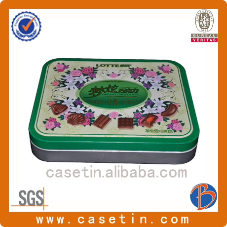 metal wedding invitation tin box