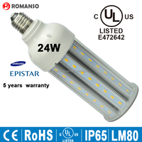 energy saving 4000 lumen led bulb light e27 5730 led corn bulb