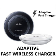 OEM Portable QI Wireless Charger Plate Mobile Phone Battery Fast Charging Pad For Samsung S6 S7