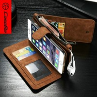 CaseMe Mobile Case, for iPhone 6 plus Case Wallet Case, Flip Leather Case for iPhone 6 5.5""