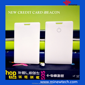 Minew bluetooth RFID& iBeacon& Eddystone & NFC beacon card tag