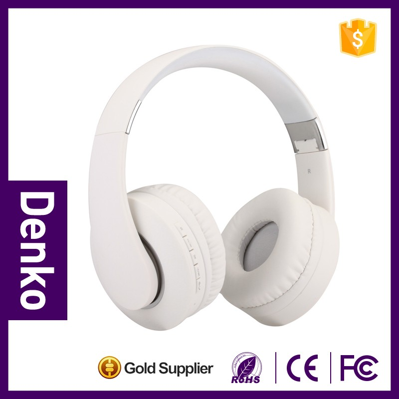 3.5mm Connectors and Headband Style Wireless stereo headphone with sd card slot