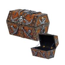 Small Size Custom Pirate Treasure Chest