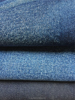 raw material jeans 98%cotton 2%spandex denim fabric for man's pants