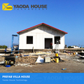 china modern prefabricated simple small villa plans ready made fashion designed modern concrete panel prefab house/home/villa