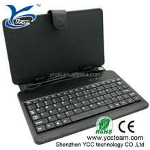 hot selling ! ! new arrival 7/8/10.1 inch smart tablet cover /8 inch tablet pc case keyboard 8 inch tablet pc case with keyboard