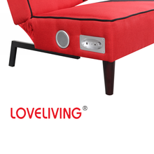 Loveliving Home Furniture Wooden Sofa Bed With Speaker