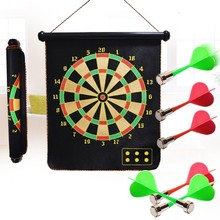 Wholesale Stock hot selling Magnetic flocking double-sided dart set safety toys magnets suction Cairns safety darts