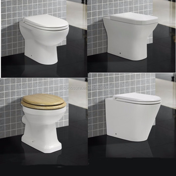 Fashionable Design Sanitary Ware Floor Mounted Back to wall Toilet