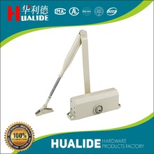 aluminum safety hold-open or without hold open door closer/soft closing adjustable/positioning or no-positioning