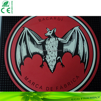 Free design Japan quality standard personalized bar mat