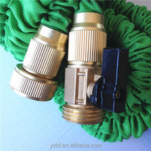 As seen on TV flexible garden water natural latex hose with brass connector