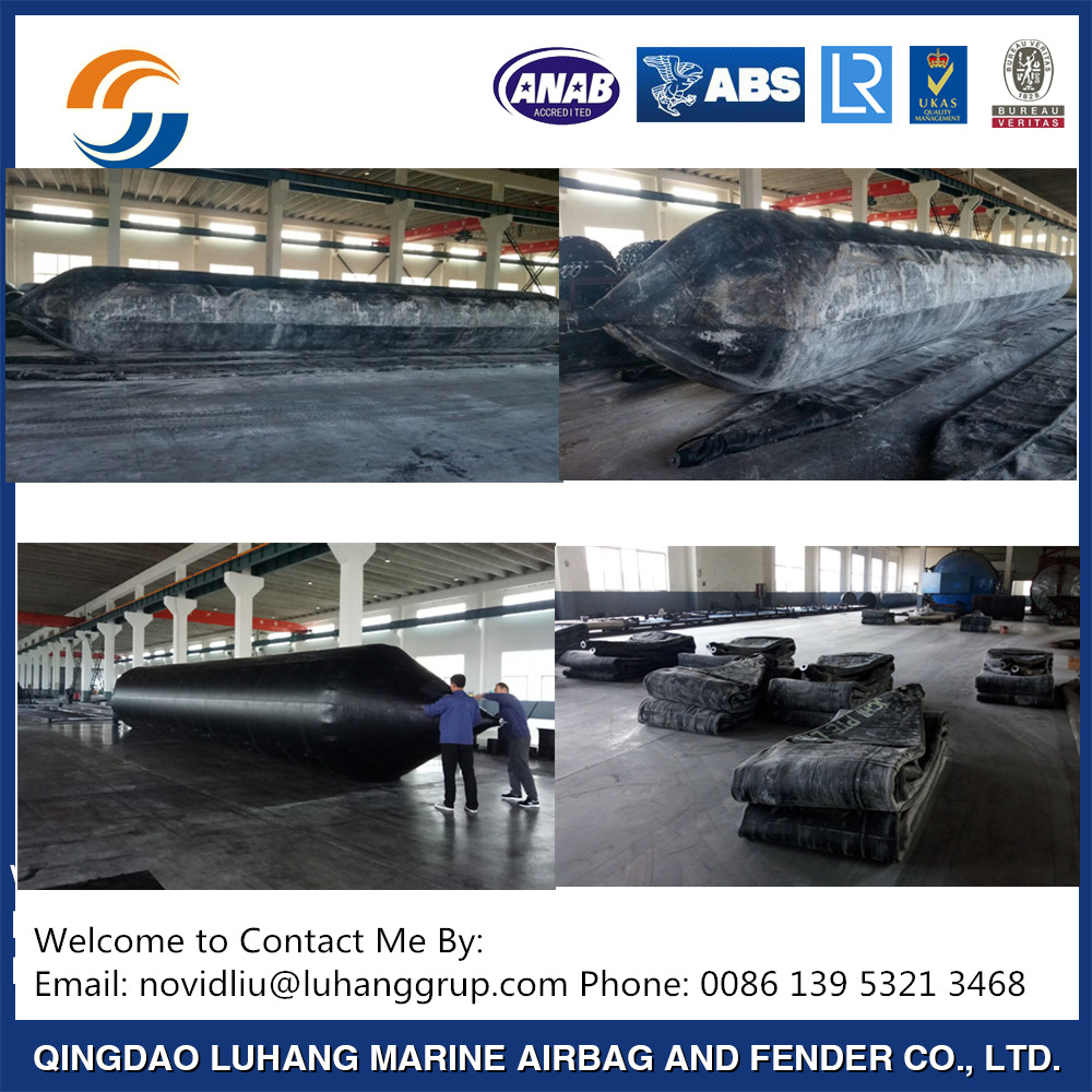 1.5M x 18M Rubber Ship/Boat Rolling Airbag