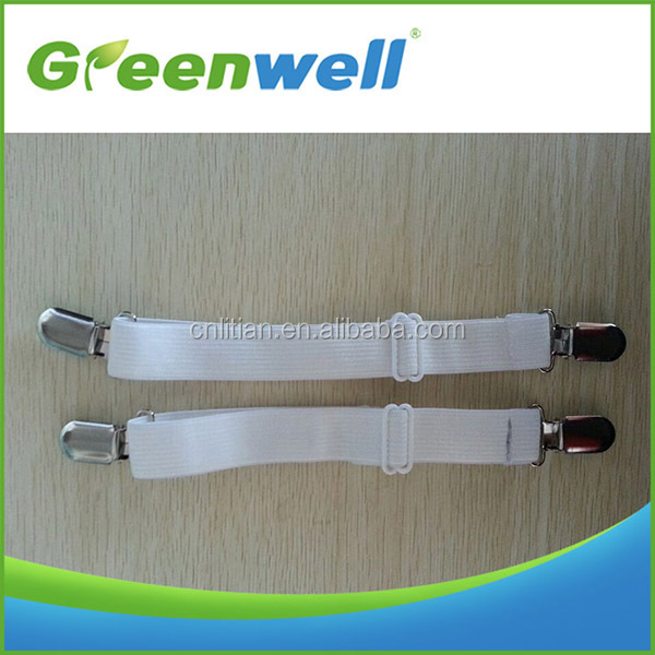 Wholesales or retails acceptable Hot new products for 2015 bed sheet suspenders