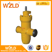 WZLD Manual Operation ASME B16.25 Stainless Steel Rotary Gas Gate Valve Made In China CL150