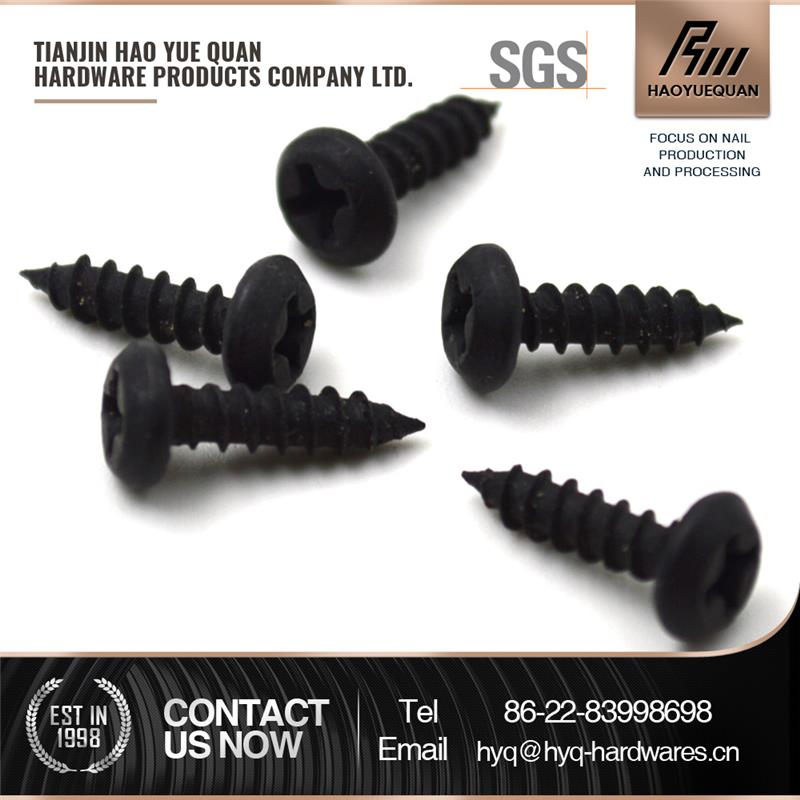 philips flat head self-tapping screw stainless steel pan head