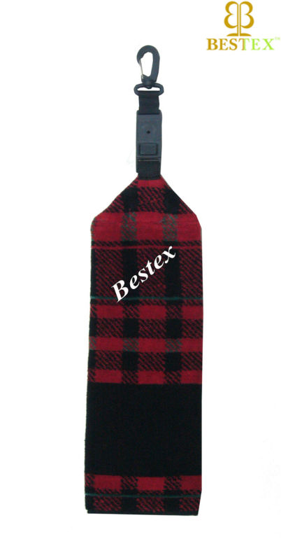 Yarn dyed Beer Brand logo Embroidery Promotion Golf sport towel