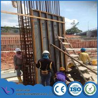Plastic concrete PVC shuttering board replace plywood